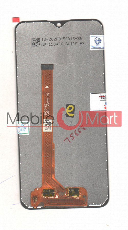 Lcd Display With Touch Screen Digitizer Panel For Vivo Y91