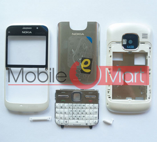 save off 52cb2 ceec1 Full Body Panel Faceplate Housing For Nokia E5 Mobile Phone