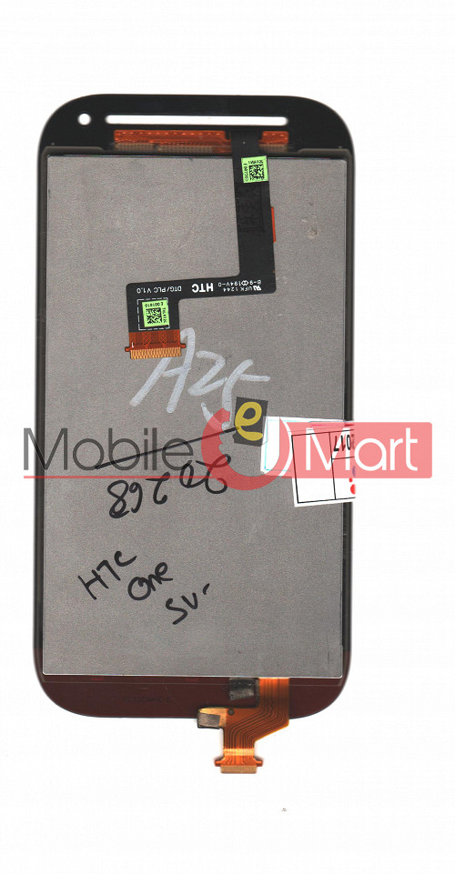 lcd display touchscreen digitizer panel for htc one sv rh mobileemart com HTC One Mini HTC One Silver
