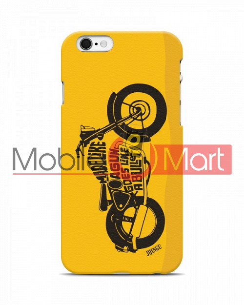 premium selection 9fbf2 3280b Fancy 3D Royal Enfield Mobile Cover For Apple Iphone 6 Plus