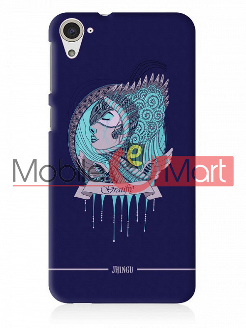 online store 28fda f58ed Fancy 3D Warrior Princess Mobile Cover For HTC Desire 826