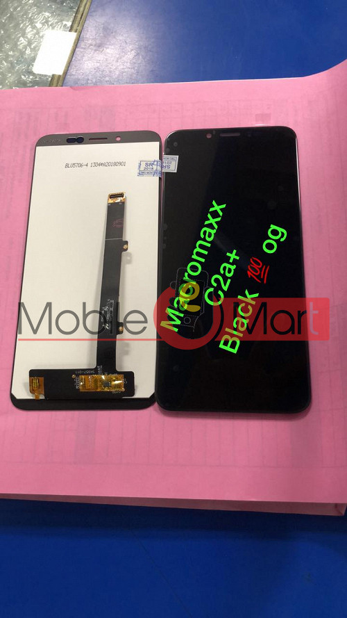 the best attitude 700ac ad440 Lcd Display With Touch Screen Digitizer Panel For Micromax C2A Plus