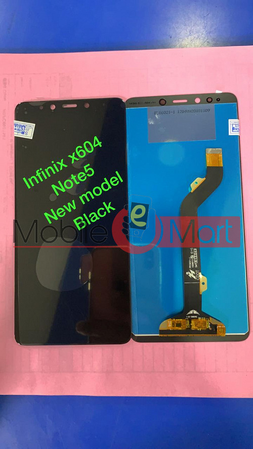 Lcd Display With Touch Screen Digitizer Panel For Infinix X604 Note 5