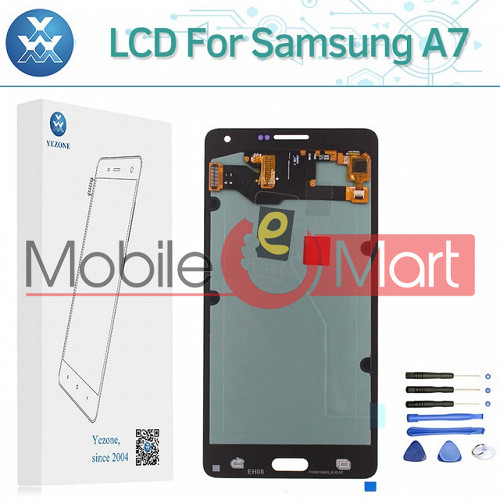 Lcd Display With Touch Screen Digitizer Panel For Samsung Galaxy A7 (2018)