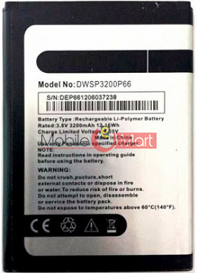 Mobile Battery For Panasonic P66 Mega