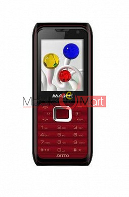 Back Panel For Maxx MX222 Ditto