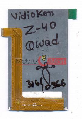 Lcd Display Screen For Videocon Infinium Z40 Quad