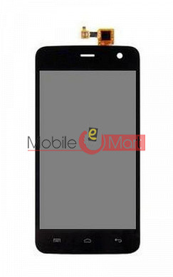 Lcd Display With Touch Screen Digitizer Panel For Micromax Unite 2