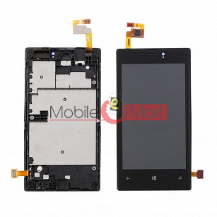 Lcd Display With Touch Screen Digitizer Panel For Nokia Lumia 521 RM(917)