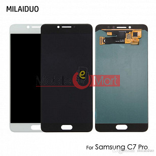 Lcd Display With Touch Screen Digitizer Panel For Samsung Galaxy C7 Pro (OLED)
