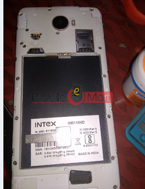 Lcd Display With Touch Screen Digitizer Panel For Intex imo118nd flash file