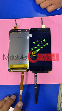 Lcd Display With Touch Screen Digitizer Panel For ivoomi iv 505