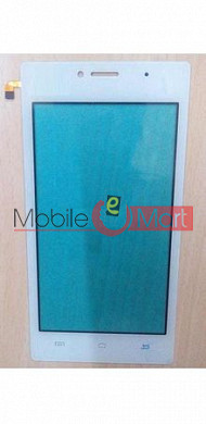 Touch Screen Digitizer For Spice Mi-451 3G - White