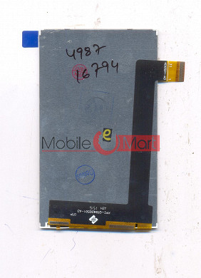 Lcd Display Screen For Intex Aqua Y2 1GB