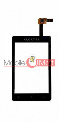 Touch Screen Digitizer For Alcatel OT-918 - Black