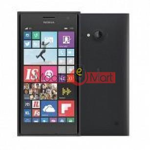 EDGE Plus Full Housing Body Panel For Nokia Lumia 730-black
