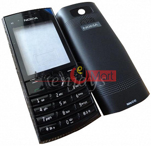 Full Body Panel Nokia X2-02 Mobile Phone Housing Fascia Faceplate