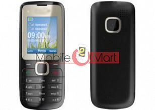 Nokia C2-00 Mobile Phone Full Body Panel Housing Fascia Faceplate