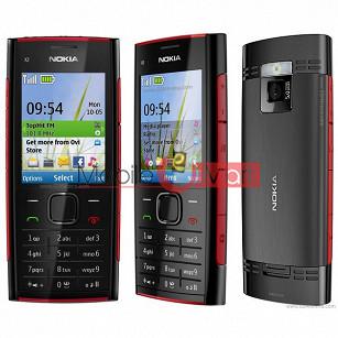 Full Body Panel Nokia X2-00 Mobile Phone Housing Fascia Faceplate