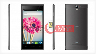 Lcd Display With Touch Screen Digitizer Panel For Lava Iris 504Q Plus