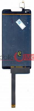 Lcd Display+Touch Screen Digitizer Panel For Intex Aqua Amaze