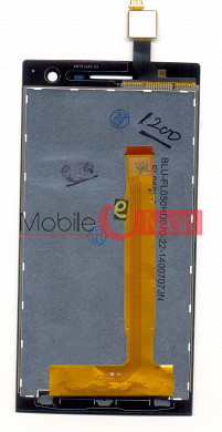 Lcd Display+Touch Screen Digitizer Glass For Lava Xolo Q1010i