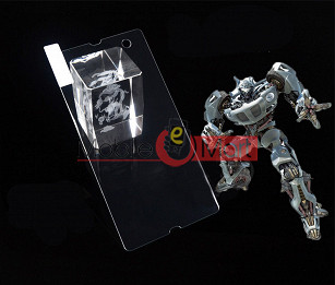 Sony Xperia Z L36h Tempered Glass Scratch Gaurd Screen Protector Toughened Film