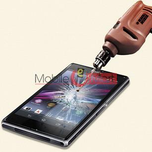 Sony Xperia Z1 L39h Tempered Glass Scratch Gaurd Screen Protector Toughened Film