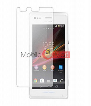 Sony Xperia M C1904 Tempered Glass Scratch Gaurd Screen Protector Toughened Protective Film