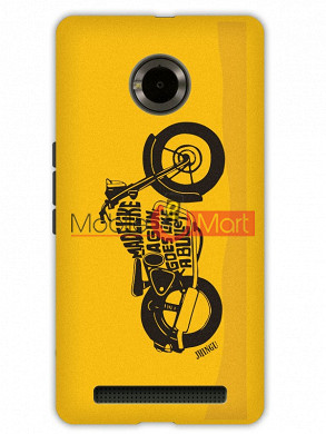 Fancy 3D Royal Enfield Mobile Cover For Micromax Yuphoria
