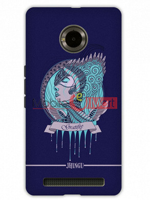 Fancy 3D Warrior Princess Mobile Cover For Micromax Yuphoria