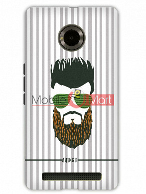 Fancy 3D Hipster Mobile Cover For Micromax Yuphoria