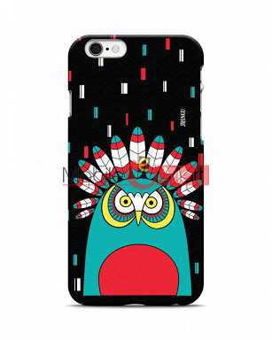 Fancy 3D African Owl Mobile Cover For Apple Iphone 6 Plus