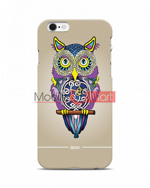 Fancy 3D Designer Owl Mobile Cover For Apple Iphone 6 Plus