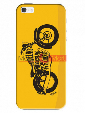 Fancy 3D Royal Enfield Mobile Cover For Apple IPhone 5 & IPhone 5s