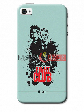 Fancy 3D Fight Club Mobile Cover For Apple IPhone 4 & IPhone 4s