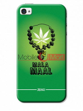 Fancy 3D Malamaal Mobile Cover For Apple IPhone 4 & IPhone 4s