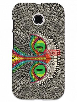 Fancy 3D Funky Billa Mobile Cover For Motorola Moto E