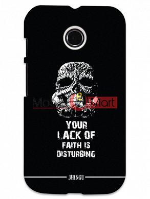 Fancy 3D Darth Vader Mobile Cover For Motorola Moto E
