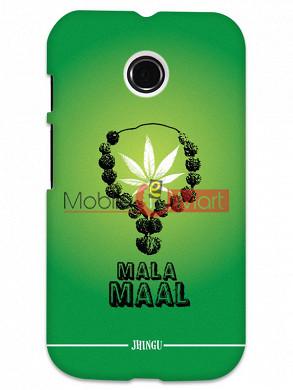 Fancy 3D Malamaal Mobile Cover For Motorola Moto E