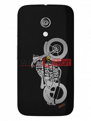 Fancy 3D Bullet Mobile Cover For Motorola Moto G