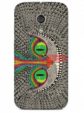 Fancy 3D Funky Billa Mobile Cover For Motorola Moto G