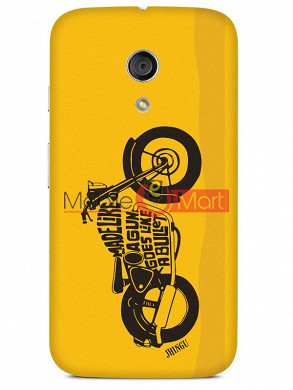 Fancy 3D Royal Enfield Mobile Cover For Motorola Moto G