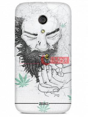 Fancy 3D Chillam Baba Mobile Cover For Motorola Moto G