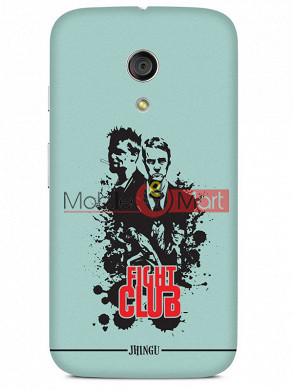 Fancy 3D Fight Club Mobile Cover For Motorola Moto G