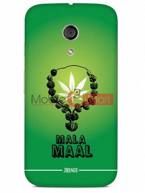 Fancy 3D Malamaal Mobile Cover For Motorola Moto G