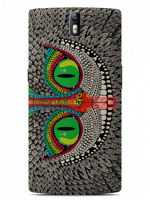 Fancy 3D Funky Billa Mobile Cover For One Plus One