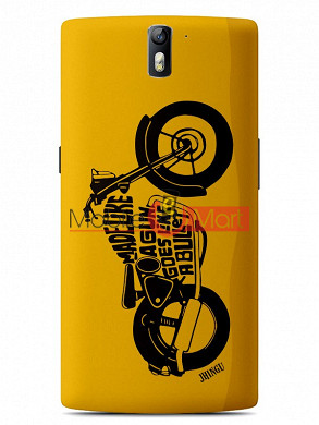 Fancy 3D Royal Enfield Mobile Cover For One Plus One