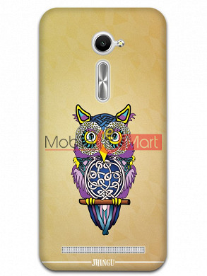 Fancy 3D Designer Owl Mobile Cover For Asus Zenphone 2