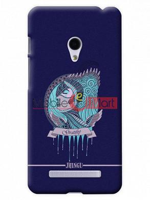 Fancy 3D Warrior Princess Mobile Cover For Asus Zenphone 5